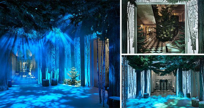 Jony Ive Christmas Tree Claridges