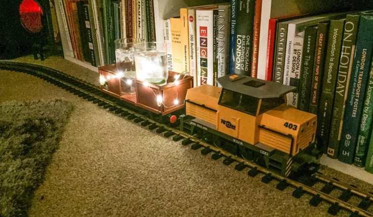Gin And Tonic Model Train
