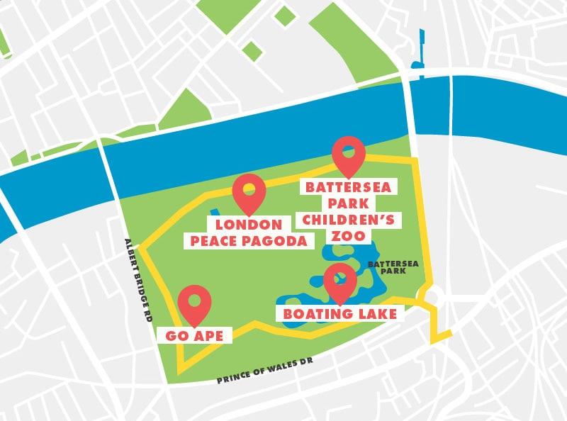 Battersea Park Running Route