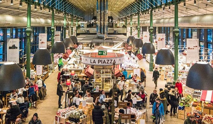 a truly giant italian food hall is coming to london in