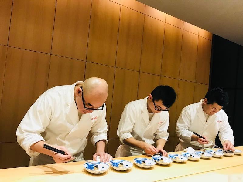 Michelin Star restaurants London - The Araki