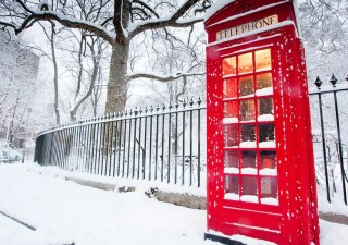 london snow ice weather