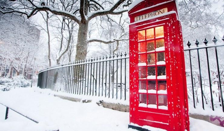 london snow ice weather