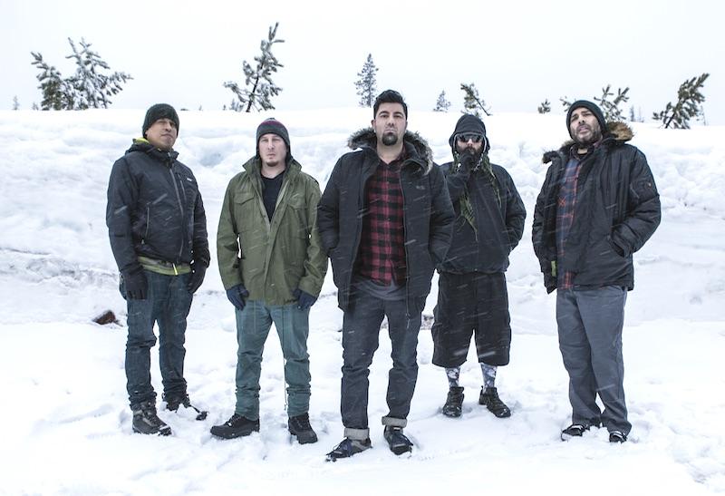 Deftones Metal Band Meltdown