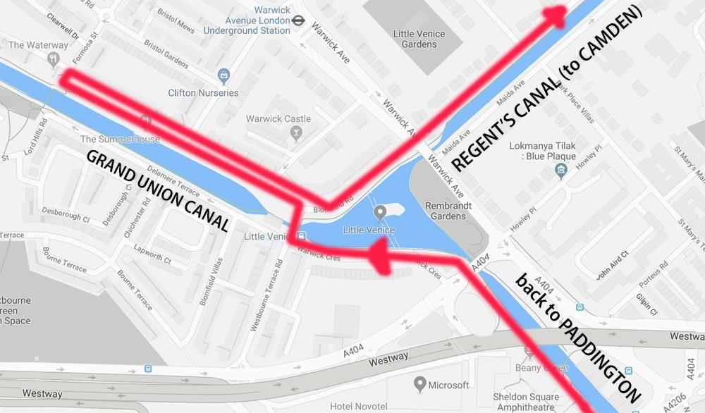 Little Venice Map