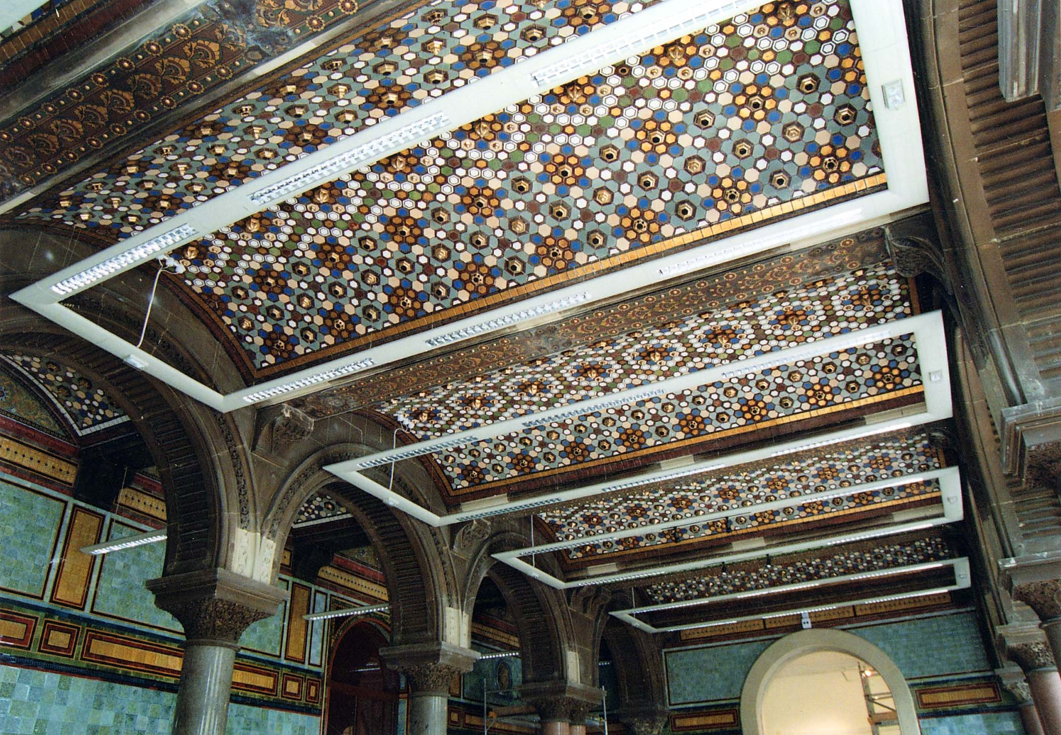Leeds Central Library Tiled Hall The Secret Library Leeds Libraries Heritage Blog