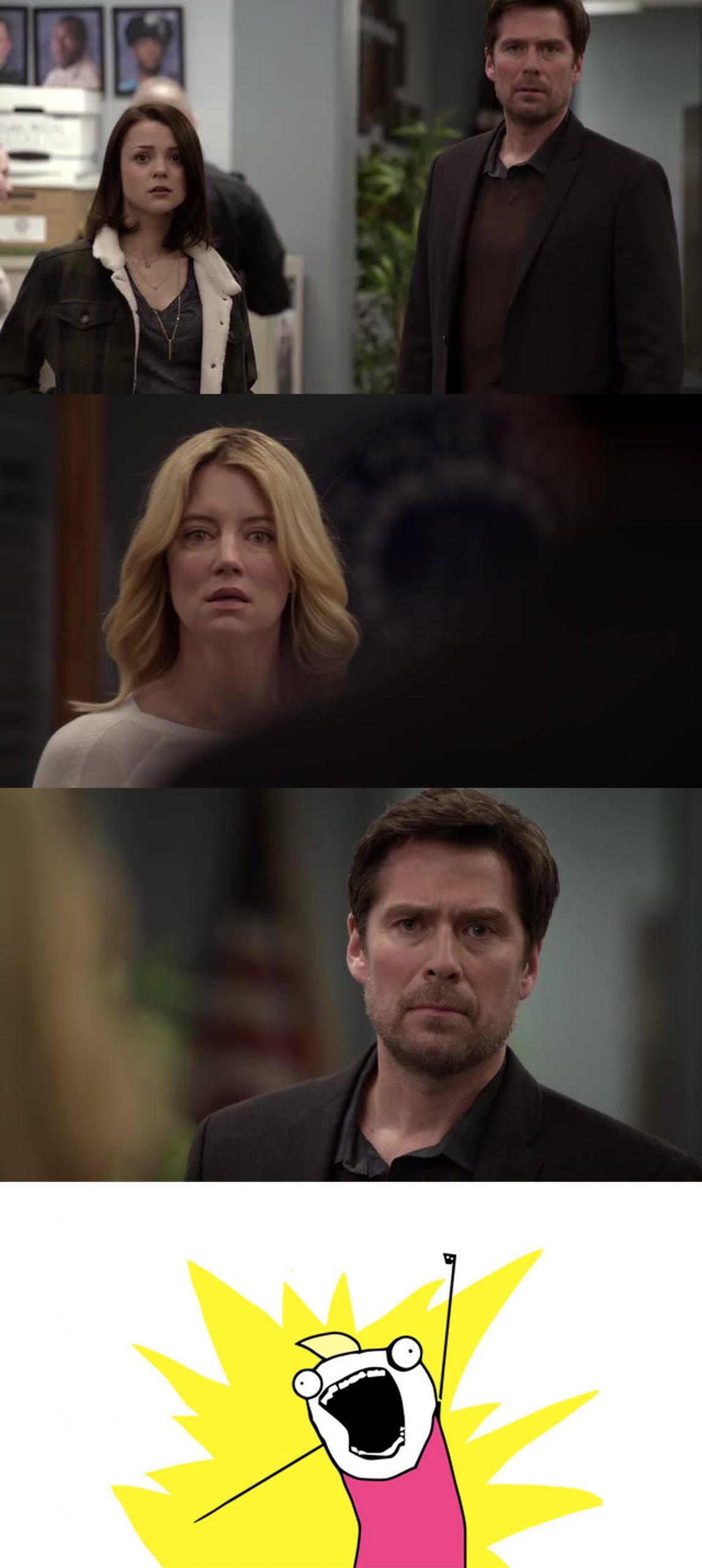 Sei nei guai David, ora Elizabeth ti fa il culo | Finding Carter 2×02