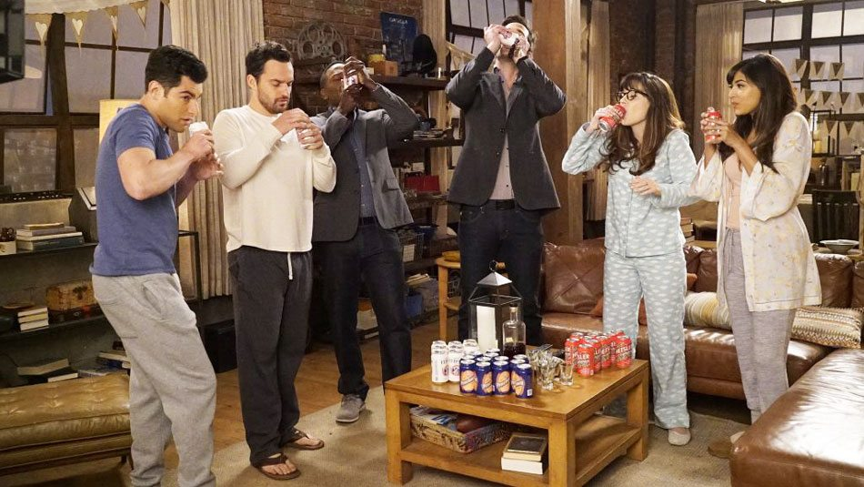 Il drinking game di New Girl: regole di Americano Vero e come si gioca