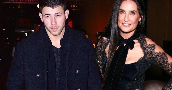 Nick Jonas sarebbe il nuovo toyboy di Demi Moore?