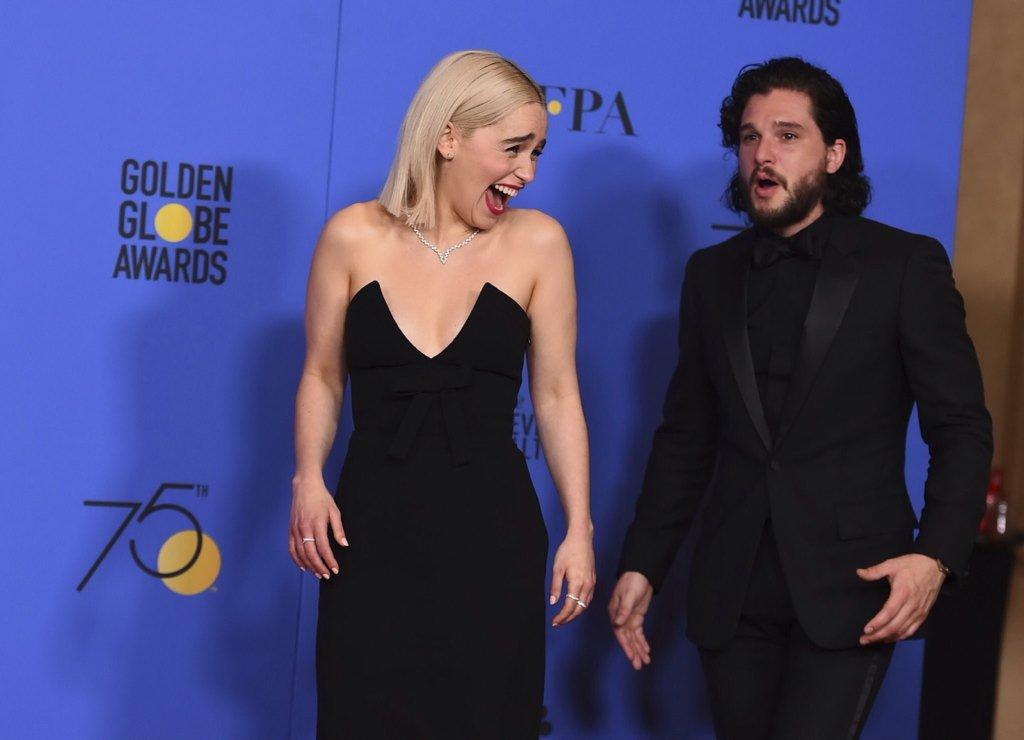 Golden Globes 2018: i vincitori e i look delle stars tutti in nero