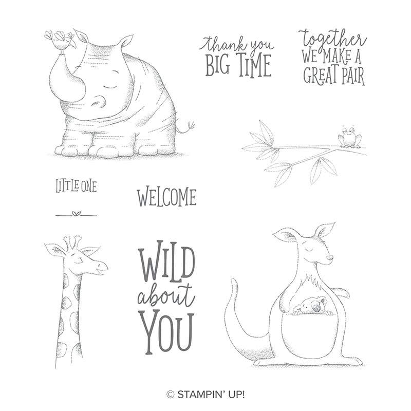 Stampin' Up! Animal Outing Stamp Set