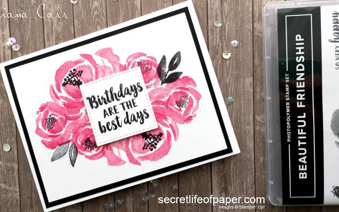 Stampin' Up! Beautiful Friendship Birthday