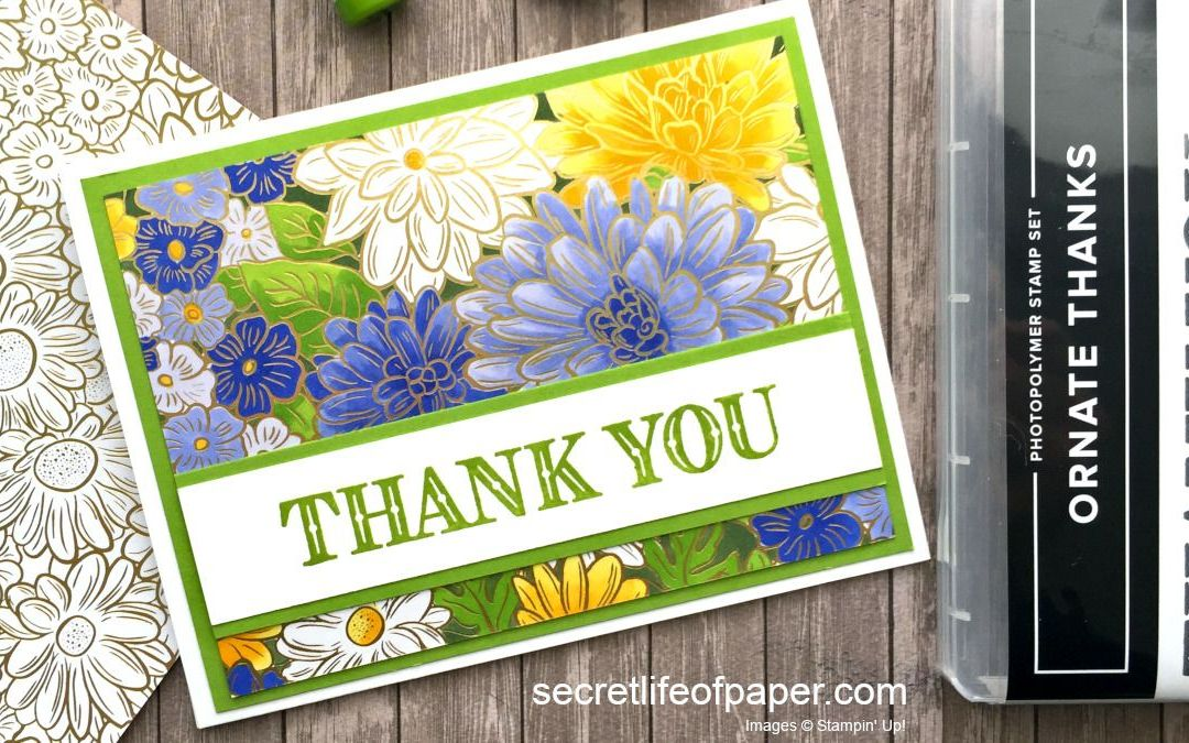 Coloring Ornate Garden Specialty Paper