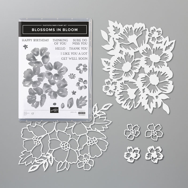 Stampin Up Blossoms in Bloom Bundle