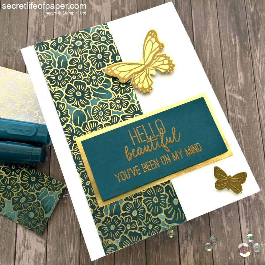 PALS Blog Hop Ornate Garden Butterfly Gala