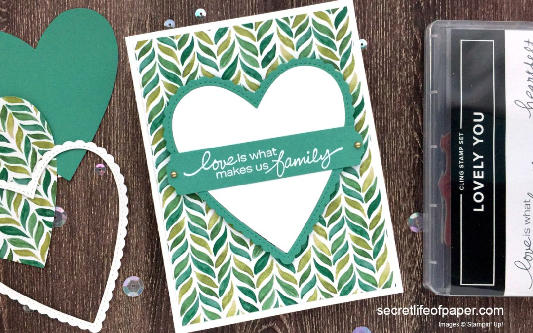 Stampin' Up! Lovely You & Stitched Be Mine