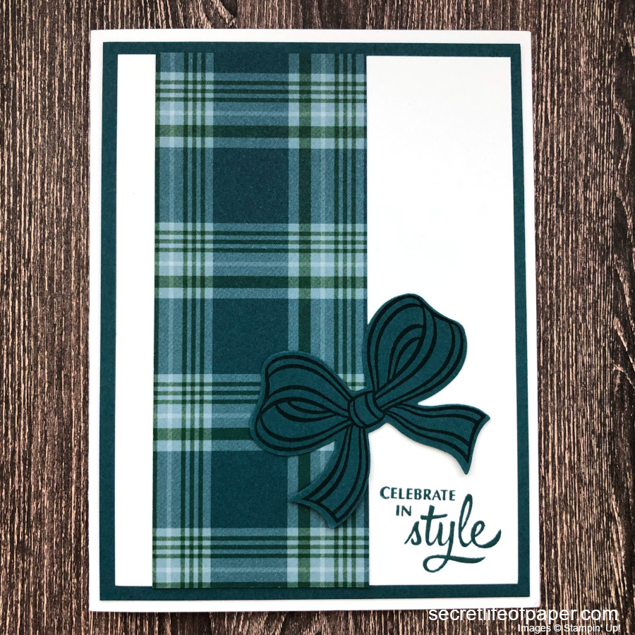 Stampin Up Gift Wrapped In Style