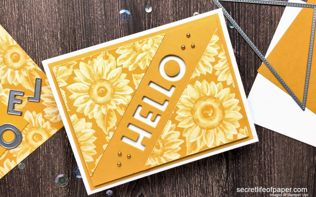 Hello with Stampin' Up! Playful Alphabet