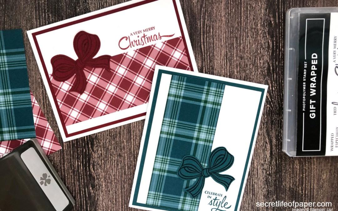 Sneak Peek: Stampin' Up! Gift Wrapped Bundle