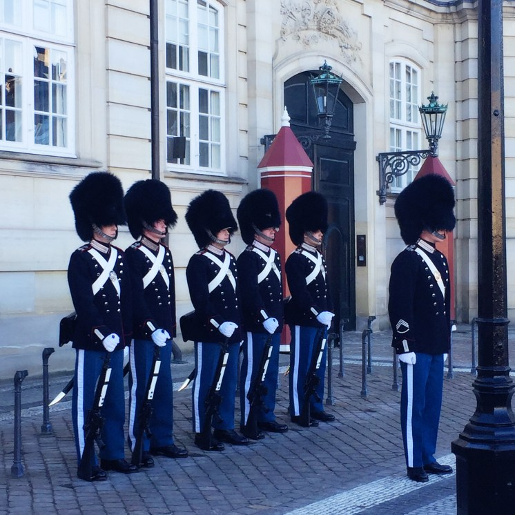 Swedish guards - Weekend in Copenhagen