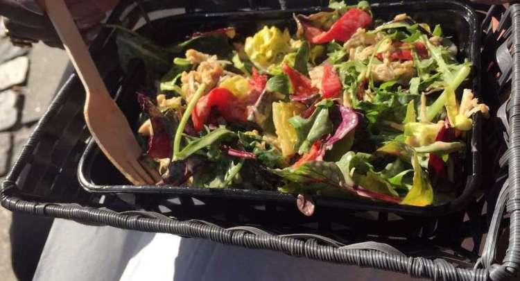 Salad @ Hungry Duck - Weekend in Copenhagen