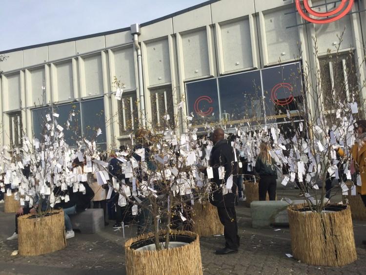 Yoko Ono's exhibition at Papiroen - Weekend in Copenhagen