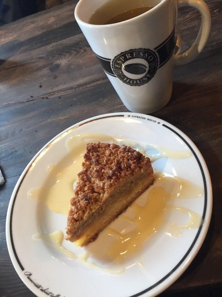 Espresso House's delicious cake - Weekend in Copenhagen