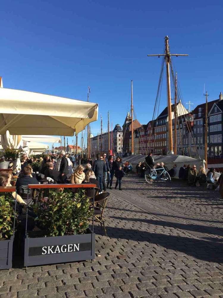 Skagen in Nyhavn Copenhagen- Weekend in Copenhagen