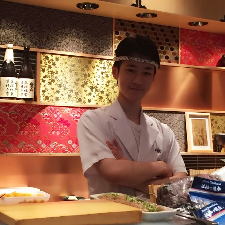 Sushi chef - Tokyo itinerary