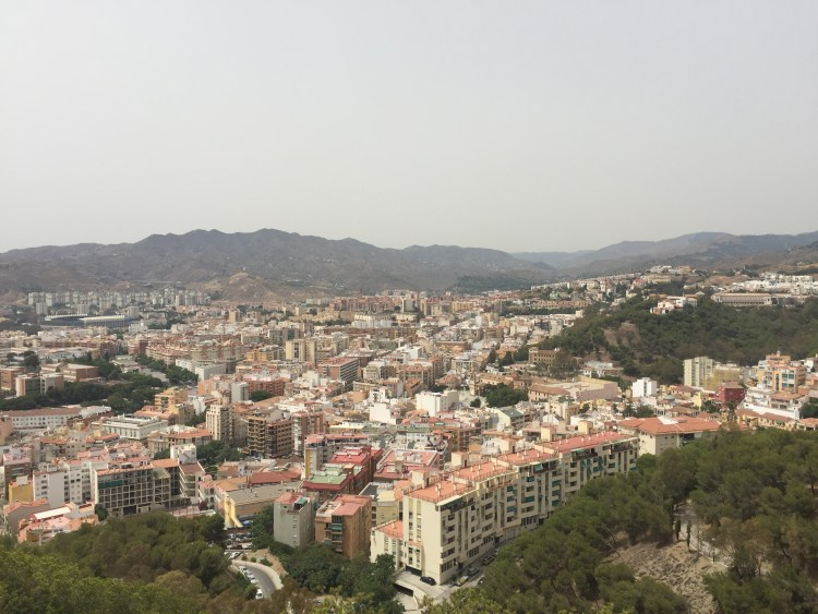 View from Castle of Gibralfaro