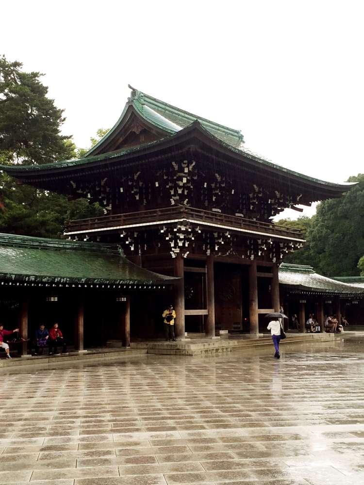 Shrine building