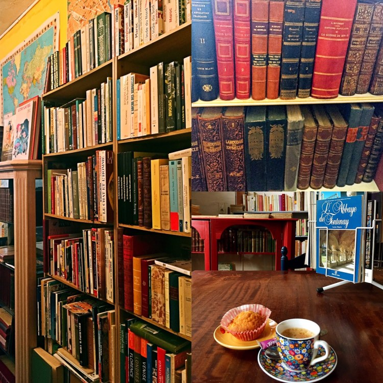 Inside the bookstores - book town