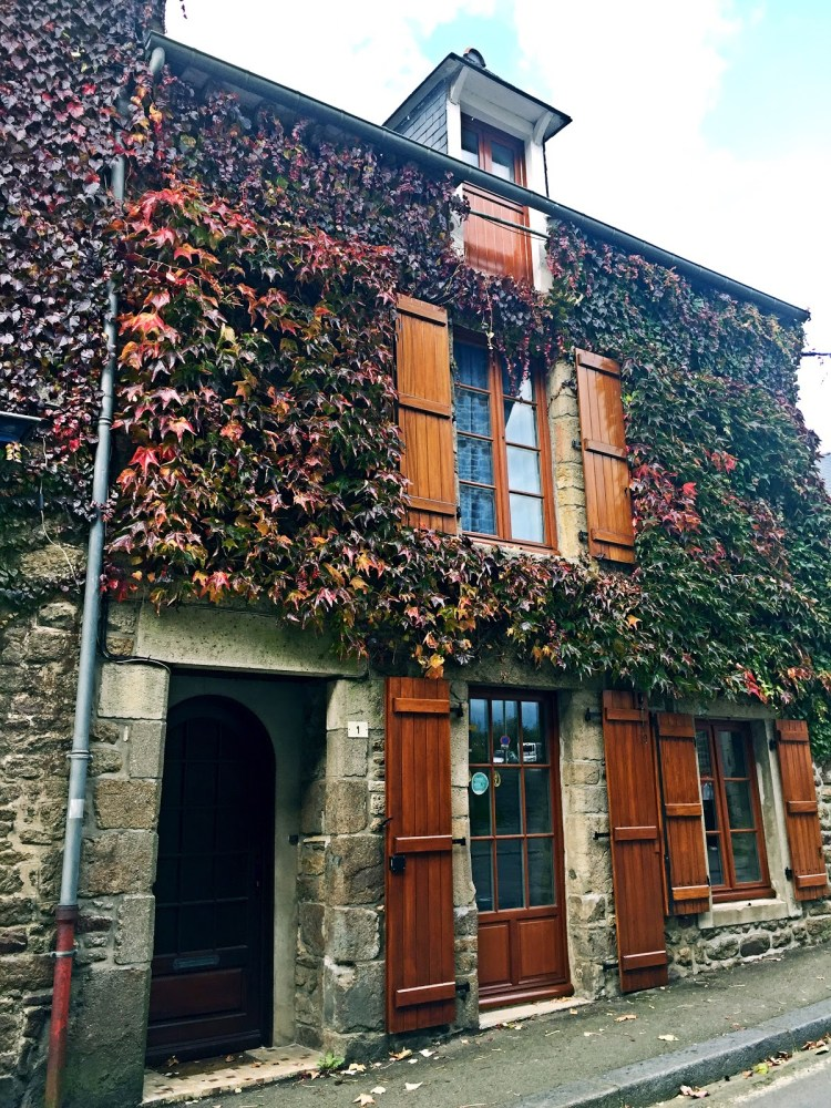 Prettiest house in Bécherel - book town
