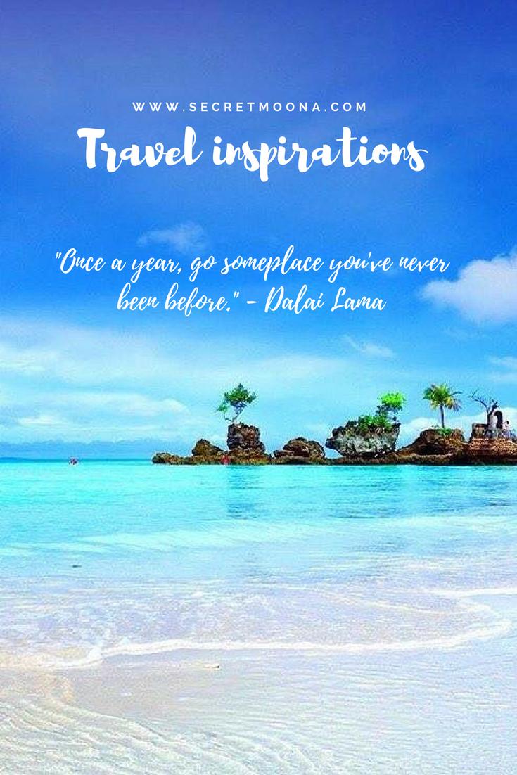 Travel inspirations - SecretMoona