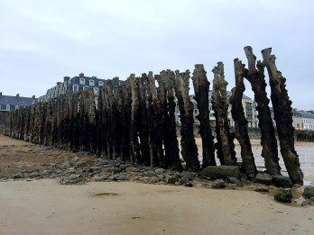 Low tide - Weekend in Saint-Malo