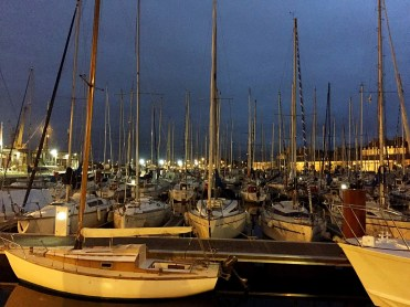 St Malo Port at night - Weekend in Saint-Malo