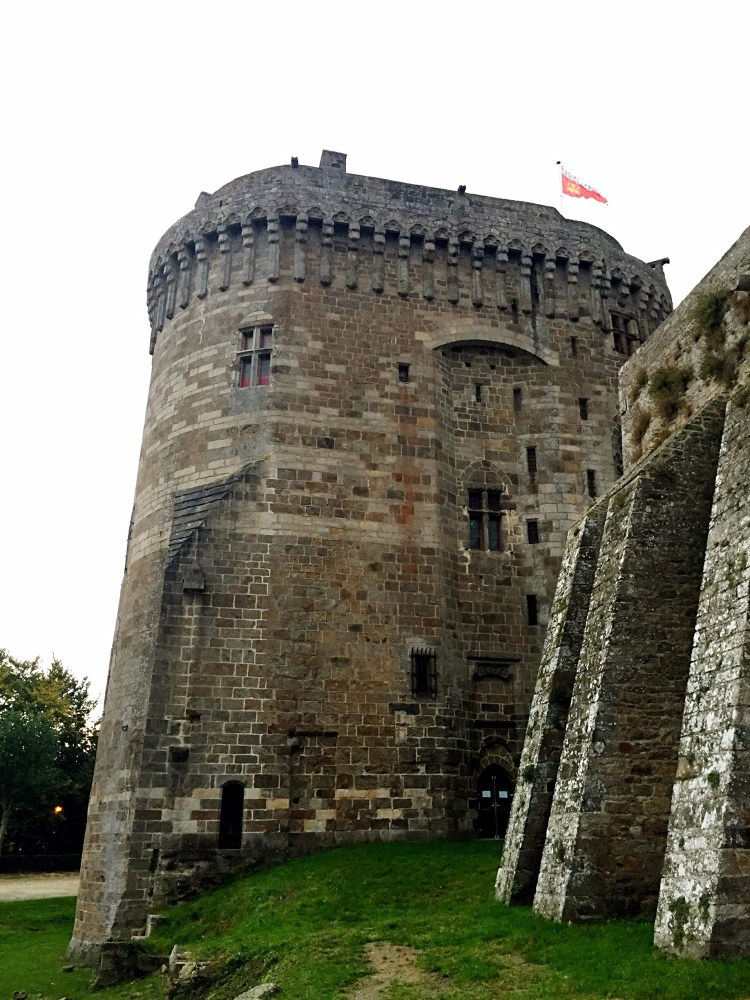Chateau de Dinan - Medieval town of Dinan