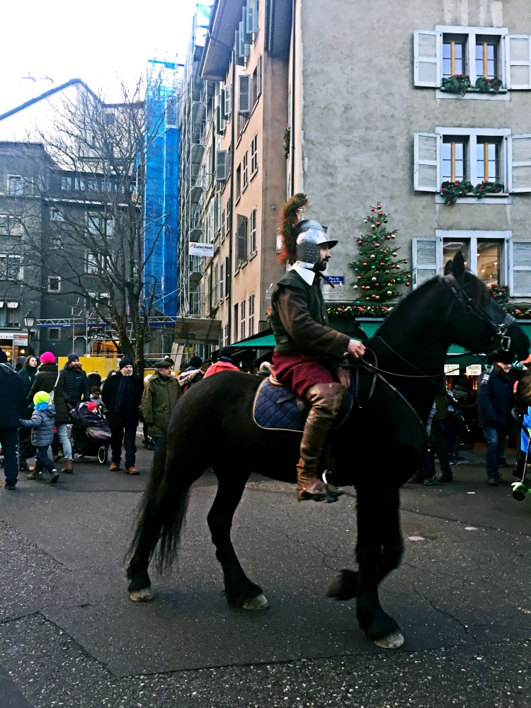 Man on horse - Weekend in Geneva