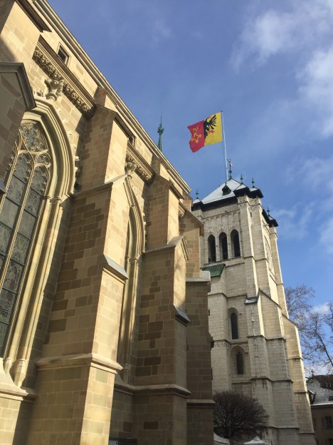 Genevois architedcture - Weekend in Geneva
