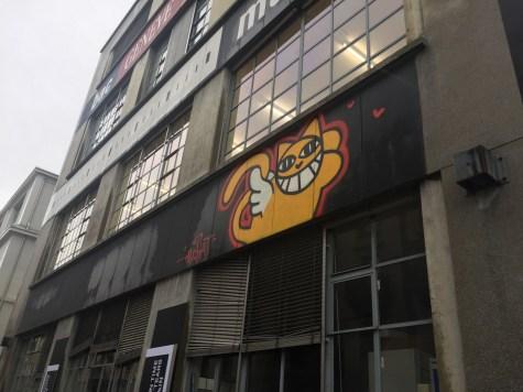 Cat graffiti - Weekend in Geneva