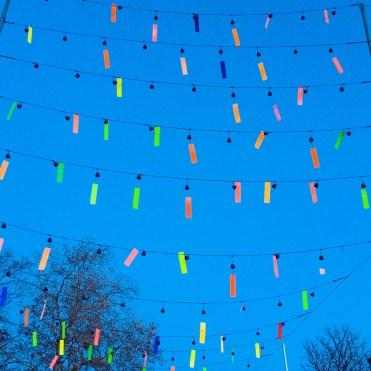 Winter decorations - Weekend in Geneva
