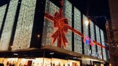 Winter illuminations - Weekend in Geneva