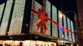 Winter illuminations - Weekend in Geneva
