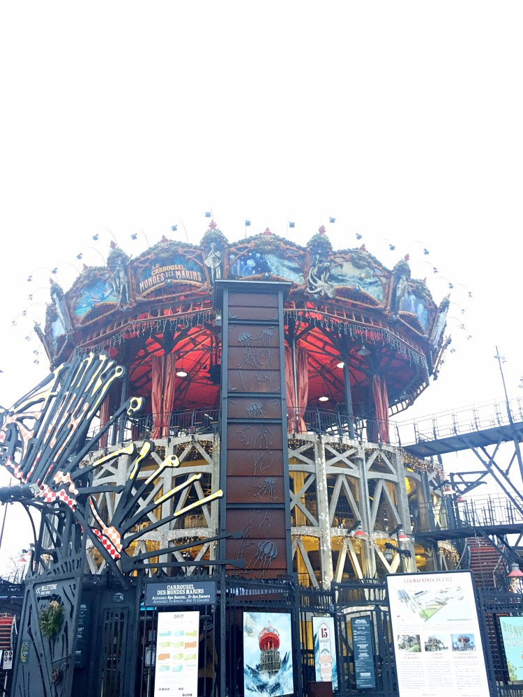 Carousel des Monde Marins