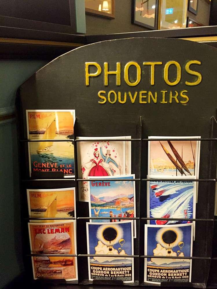 Postal cards - Hotel Rotary Geneva
