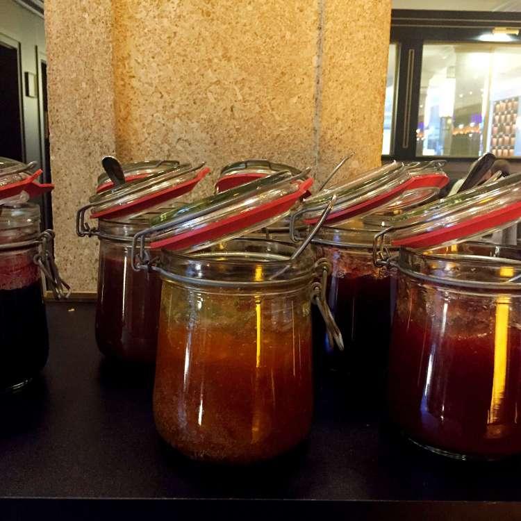 Selection of jam - Hotel Rotary Geneva