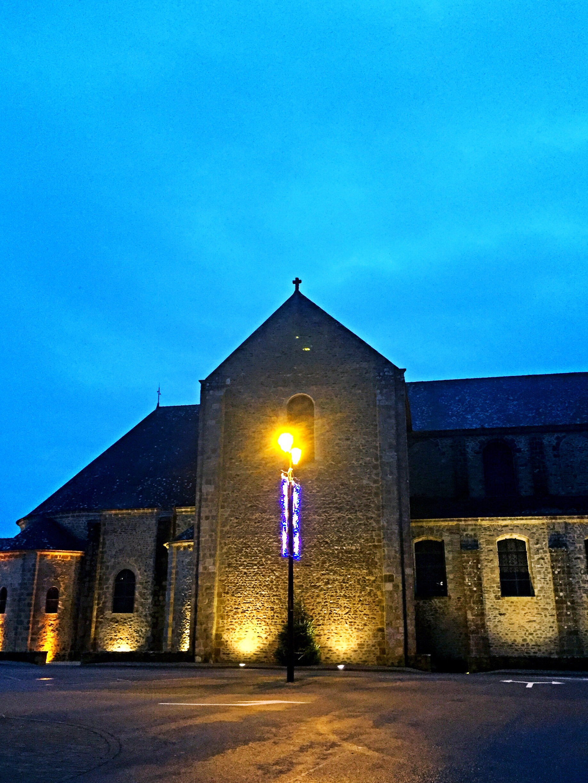 Abbaye - St Gildas de Rhuys - off the beaten track Brittany