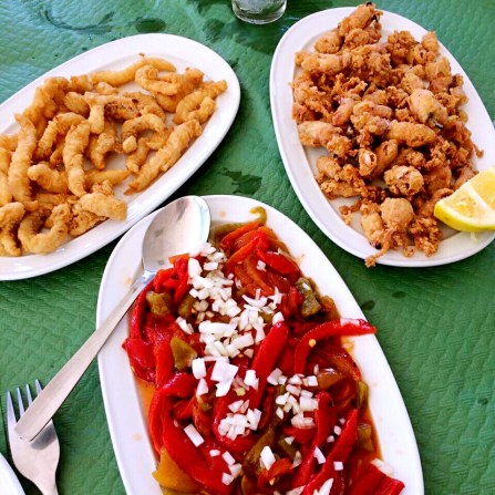 Selection of tapas - best things about malaga