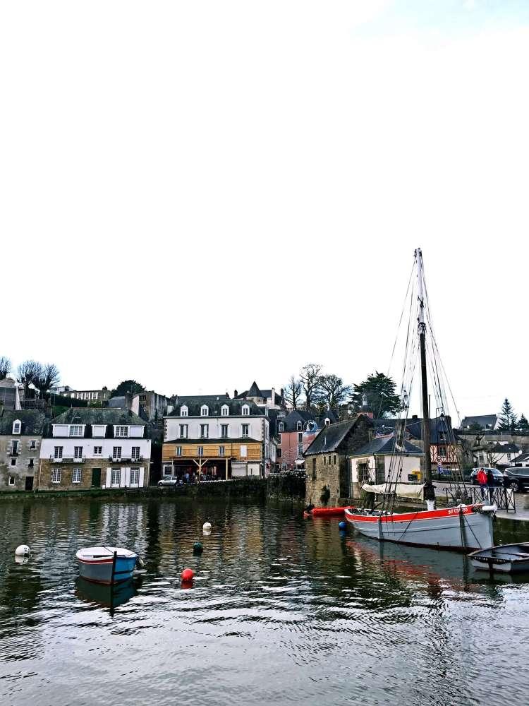 St Goustan Port - Auray Brittany