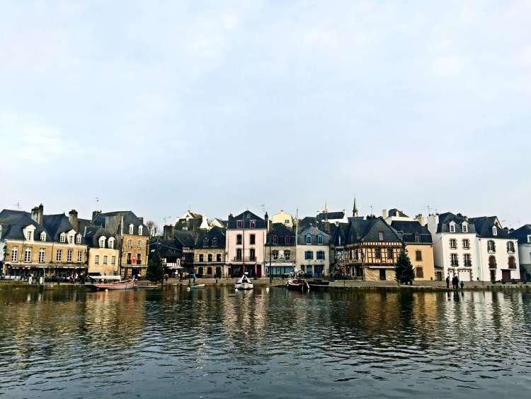 Picturesque and quaint port of Saint-Goustan